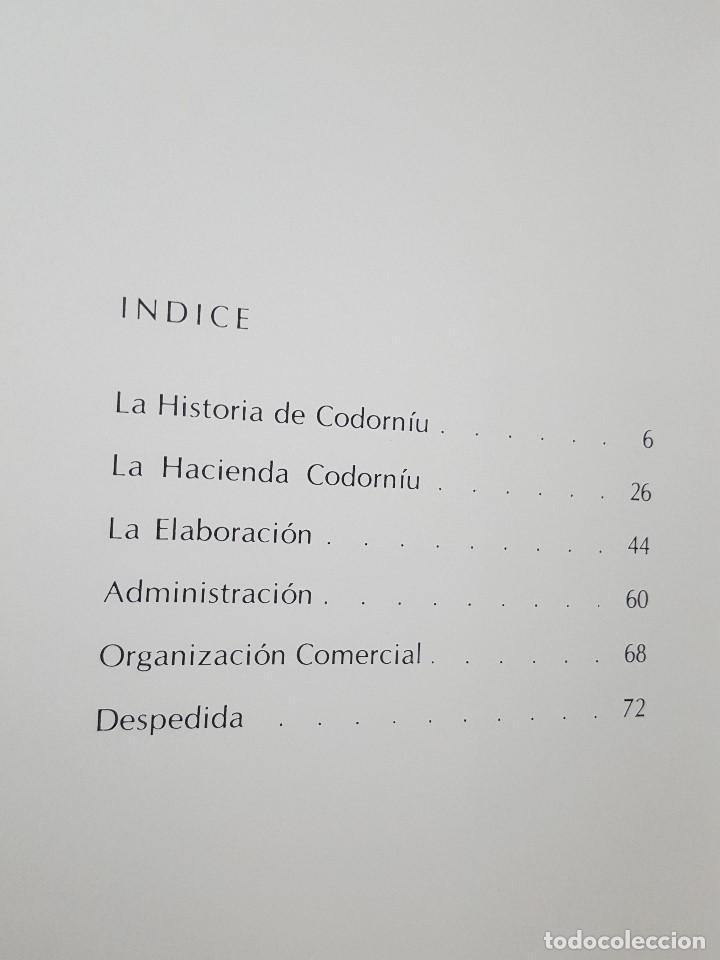 Coleccionismo de cava: LIBRO / IMAGEN Y PRESENCIA DE CODORNIU 1551/1872 - Foto 3 - 199985125