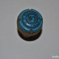 Coleccionismo de cava: PLACA DE CAVA RONDEL RAIMAT AZUL LITOGRAFIADA. Lote 200110398