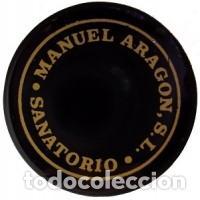 TAPON ROSCA DE ESPUMOSOS SANATORIO CATALOGADO EN CAVA XAPES.NET 145317 (Coleccionismo - Botellas y Bebidas - Cava)