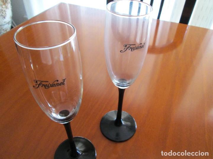 2 COPAS FREXENET (Coleccionismo - Botellas y Bebidas - Cava)