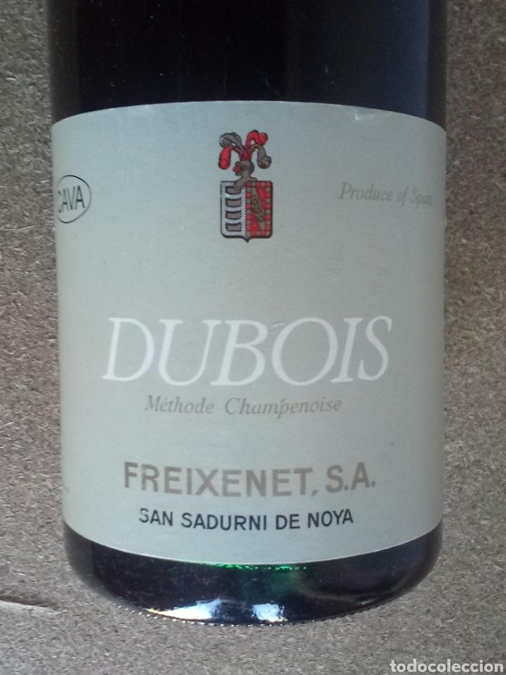 Coleccionismo de cava: Dos Botellas Cava Freixenet Dubois Antiguas - Foto 2 - 207723722