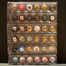 Coleccionismo de cava: LOTE 36 PLACAS DE CAVA DISTINTAS CON HOJA INCLUIDA. Lote 208886836