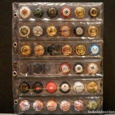 Coleccionismo de cava: LOTE 36 PLACAS DE CAVA DISTINTAS CON HOJA INCLUIDA. Lote 208886855