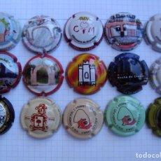 Coleccionismo de cava: LOTE DE PIRULAS DE TROBADAS. Lote 209003102