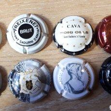 Coleccionismo de cava: 8 CHAPAS DE CAVA CH 07. Lote 209006825