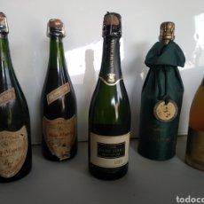 Coleccionismo de cava: LOTE DE BOTELLAS DE CAVA , DELAPIERRE, PUIG MUNTS , JAUME SERRA, FREIXANET. Lote 209137031