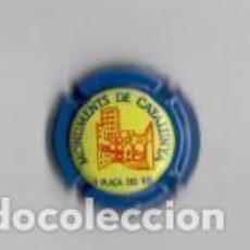 Coleccionismo de cava: CHAPA CAVA PIRULA DE MOMUMENTOS DE CATALUÑA PLAZA DEL REY Nº 3. Lote 212340893