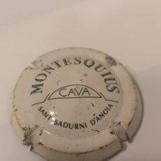 Coleccionismo de cava: A290. PLACA DE CAVA. MONTESQUIUS. Lote 214300883