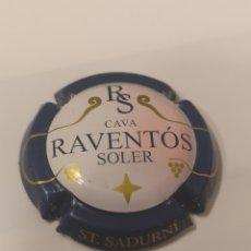 Coleccionismo de cava: A295. PLACA DE CAVA. RAVENTOS SOLER. Lote 214301241