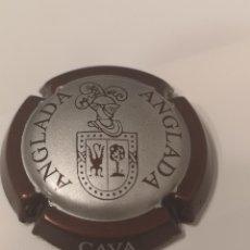 Coleccionismo de cava: A297. PLACA DE CAVA. ANGLADA. Lote 214301381