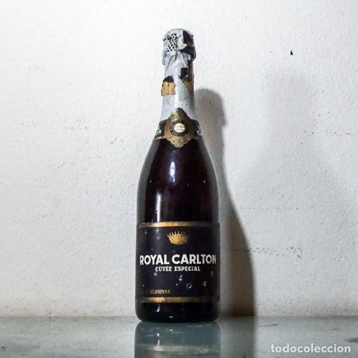 ROYAL CARLTON 1950 'S CUVÉE ESPECIAL CAVA BODEGAS BILBAINAS (Coleccionismo - Botellas y Bebidas - Cava)