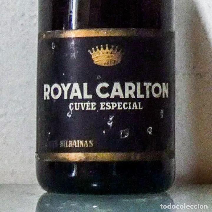 Coleccionismo de cava: ROYAL CARLTON 1950 s CUVÉE ESPECIAL CAVA BODEGAS BILBAINAS - Foto 5 - 214921612