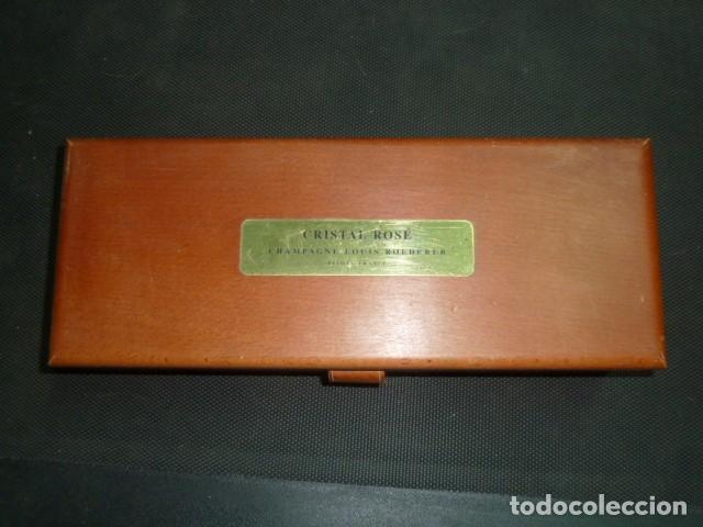Coleccionismo de cava: Caja madera Champagne Louis Roederer. Vacía - Foto 2 - 218161571