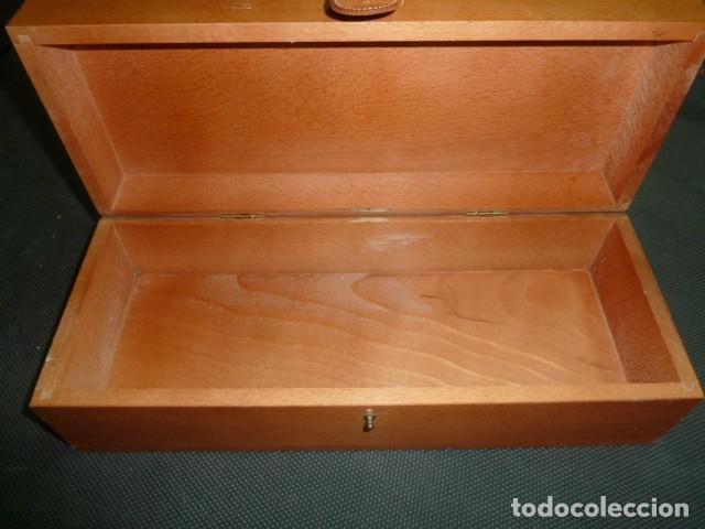 Coleccionismo de cava: Caja madera Champagne Louis Roederer. Vacía - Foto 5 - 218161571