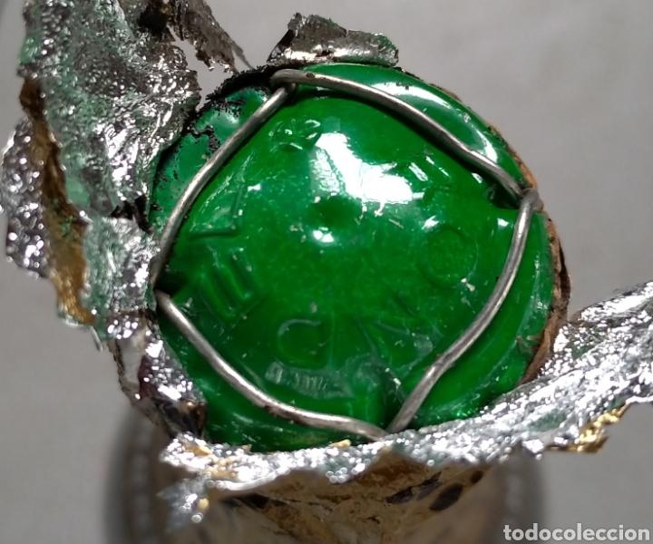 Coleccionismo de cava: Cava Rondel Extra Botella Antigua con Placa Verde - Foto 6 - 219728482
