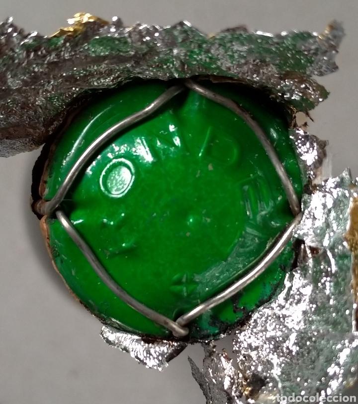 Coleccionismo de cava: Cava Rondel Extra Botella Antigua con Placa Verde - Foto 7 - 219728482
