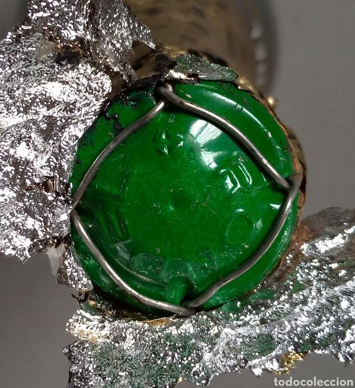 Coleccionismo de cava: Cava Rondel Extra Botella Antigua con Placa Verde - Foto 8 - 219728482