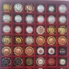 Coleccionismo de cava: LOTE DE 56 CHAPAS DISTINTAS DE CAVA CODORNIU. Lote 220459703