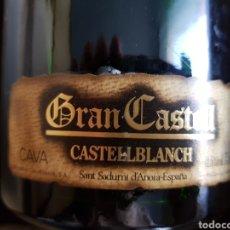Coleccionismo de cava: BOTELLA CAVA GRAN CASTELL CASTELLBLANCH. Lote 221134306