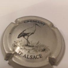 Coleccionismo de cava: A1880. PLACA DE CHAMPAGNE. CAVA. CREMANT D'ALSACE. Lote 222171551