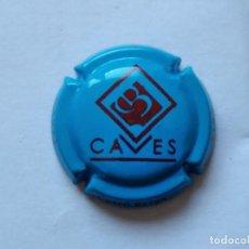 Coleccionismo de cava: PLACA DE CAVA CUSCO BERGA Nº 94299. Lote 222911376