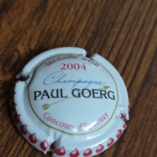 Coleccionismo de cava: A742. PLACA DE CHAMPAGNE. PAUL GOERG. MEDAILLE D'OR. Lote 222914896
