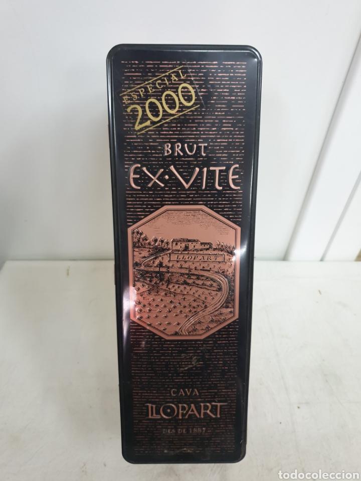 Coleccionismo de cava: CAJA BRUT EX-VITE ESPECIAL 200O - Foto 5 - 223431476