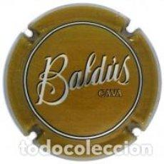 Collectionnisme de cava: CHAPA CAVA - BALDÚS - PLACA DE COLOR VERD CAQUI - CODI: EBLD142496. Lote 225716322