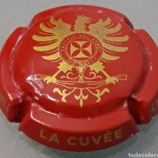 Coleccionismo de cava: PLACA CAVA LA CUVÉE DE CASTELL DEL REMEI. Lote 231780925