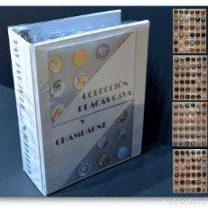 Coleccionismo de cava: LOTE 252 PLACAS DE CAVA CHAPAS TODAS DISTINTAS CON ALBUM Y 7 HOJAS VER TODAS EN FOTOGRAFIAS XAPES. Lote 232944690