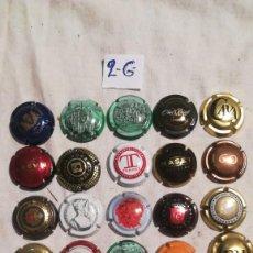 Coleccionismo de cava: LOTE 30 CHAPAS CAVA. Lote 234672310