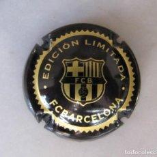 Coleccionismo de cava: CHAPA XAPA CAVA FUTBOL CLUB BARCELONA EDICIÓN LIMITADA BARÇA. Lote 235513985