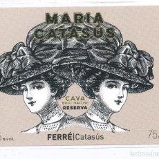 Coleccionismo de cava: ESPAÑA - SPAIN - ETIQUETA LABEL. Lote 236227605