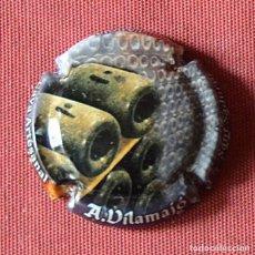 Coleccionismo de cava: A. VILAMAJO - PLACA DE CAVA - ARTESANAL. Lote 236253975