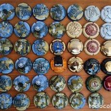 Coleccionismo de cava: LOTE 52 PLACAS DE CAVA. ANNA DE CODORNIU, PARXET, JAUME SERRA, MESTRES, PERELADA, TORELLO... CHAPAS. Lote 236490570