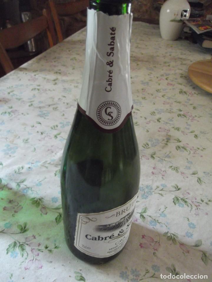 Coleccionismo de cava: Botella vacía Brut Cabré & Sabaté - Foto 3 - 242161550