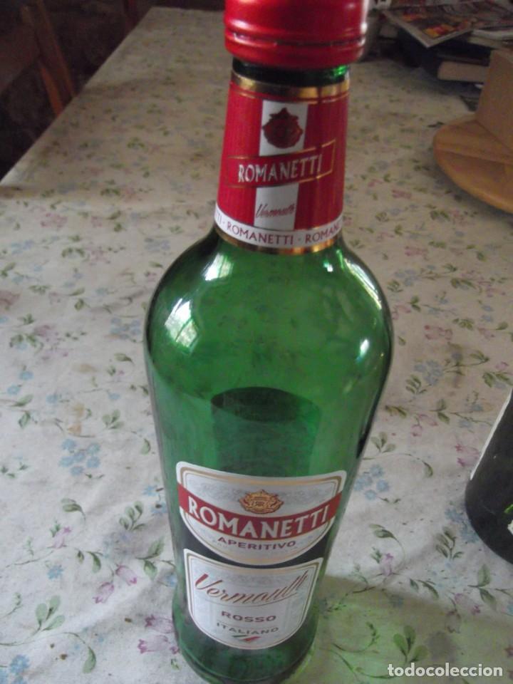 Coleccionismo de cava: Botella vermouth Rosso Romanetti - Foto 2 - 242162080
