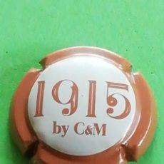 Coleccionismo de cava: CHAPA CAVA CANALS Y MUNNE 1915.. FECHA FUNDADA LA CAVA.. Lote 243392390