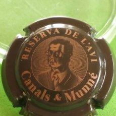 Coleccionismo de cava: CHAPA CAVA. CANALS Y MUNNE. RESERVA DEL AVI.. Lote 243393180