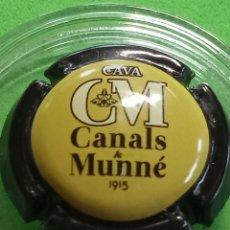 Coleccionismo de cava: CHAPA CAVA CANALS Y MUNNE. Lote 243393715
