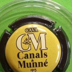 Coleccionismo de cava: CHAPA CAVA CANALS Y MUNNE. Lote 243394120