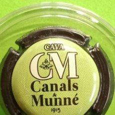 Coleccionismo de cava: CHAPA CAVA CANALS Y MUNNE. Lote 243394190