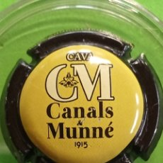 Coleccionismo de cava: CHAPA CAVA CANALS Y MUNNE. Lote 243394320