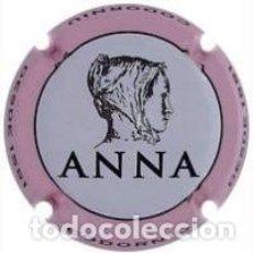 Coleccionismo de cava: PLACA CHAPA CAVA - ANNA DE CODORNIU - ROSA CLAR - DES DE 1551. Lote 243844510