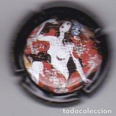 Coleccionismo de cava: PLACA DE CAVA FREIXENET DEL AÑO 1998 - WOMAN NUDE VIADER:2032. Lote 245643790
