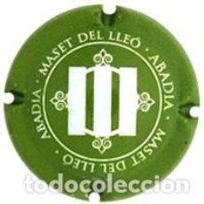 Coleccionismo de cava: PLACA CHAPA CAVA - MASET DEL LLEÓ. Lote 246066535