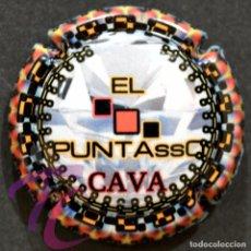 Coleccionismo de cava: PLACA DE CAVA PIRULA CAVA EL PUNTASSO. Lote 252683335