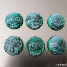 Coleccionismo de cava: 6 PLACAS DE CAVA COL. JAUME SERRA COMP.. Lote 253730495