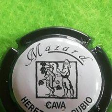 Coleccionismo de cava: CHAPA CAVA MOZARD NEGRA. Lote 259763575