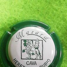 Coleccionismo de cava: CHAPA CAVA MOZARD VERDE. Lote 259763705